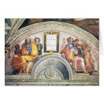 Michelangelo Unterberger - The ancestors of Christ Card