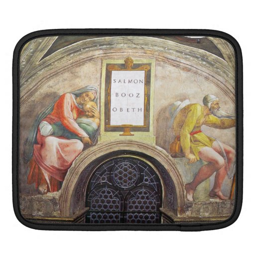 Michelangelo Unterberger - The ancestors of Christ iPad Sleeve