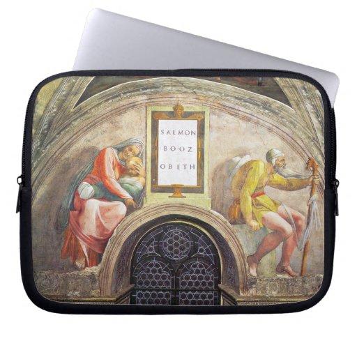 Michelangelo Unterberger - The ancestors of Christ Computer Sleeves
