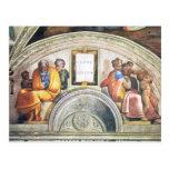 Michelangelo Unterberger - The ancestors of Christ Postcard