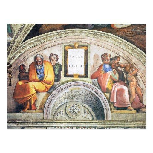 Michelangelo Unterberger - The ancestors of Christ Post Cards