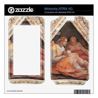 Michelangelo Unterberger - The ancestors of Christ Motorola ATRIX 4G Decal