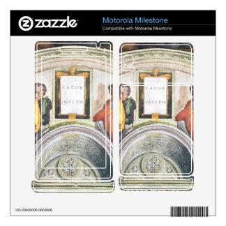Michelangelo Unterberger - The ancestors of Christ Motorola Milestone Skin