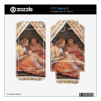 Michelangelo Unterberger - The ancestors of Christ Decal For HTC Desire S