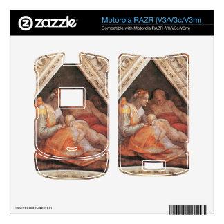 Michelangelo Unterberger - The ancestors of Christ Motorola RAZR Decals