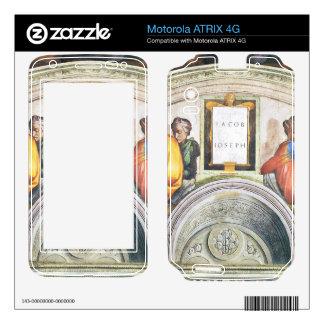Michelangelo Unterberger - The ancestors of Christ Motorola ATRIX 4G Decals