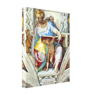 Michelangelo Unterberger - The prophet Daniel Canvas Print