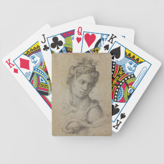 Michelangelo's Cleopatra Bicycle Playing Cards