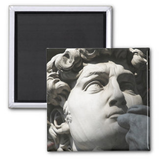Michelangelo's David 2 Inch Square Magnet
