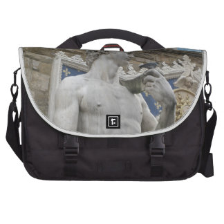 Michelangelo's David  Florence, Italy Bag For Laptop
