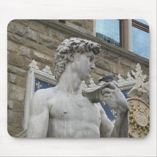 Michelangelo's David, Florence Italy Mouse Pad