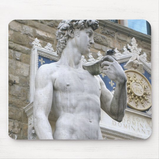 Michelangelo's David, Florence Italy mousepad