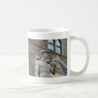 Michelangelo's David, Florence Italy Classic White Coffee Mug