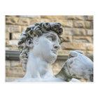Michelangelo's David, Florence Italy Postcard