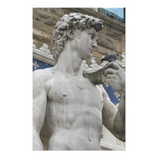 Michelangelo's David  Florence, Italy Stationery