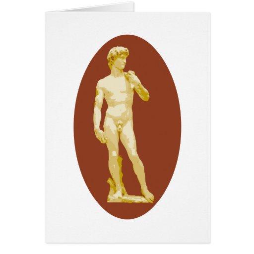 Michelangelo's David Greeting Cards