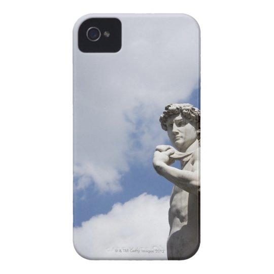 Michelangelo's David in the Piazza della 2 iPhone 4 Case