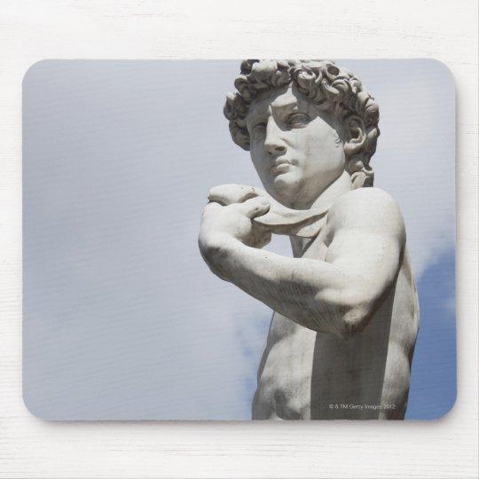 Michelangelo's David in the Piazza della 3 Mouse Pad