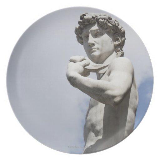 Michelangelo's David in the Piazza della 3 Plates
