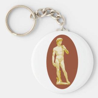 Michelangelo's David Key Chains