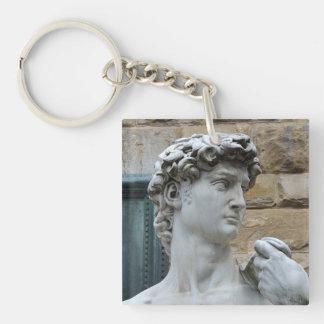 Michelangelo's David Keychain