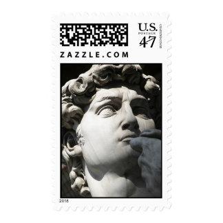 Michelangelo's David Postage Stamp