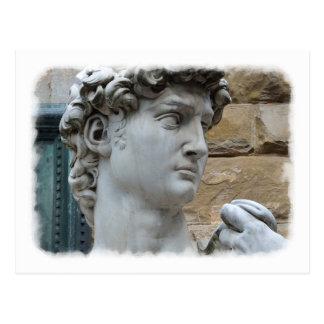 Michelangelo's David Postcard