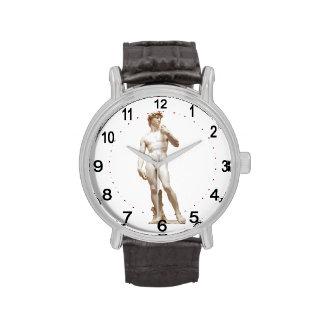 Michelangelo's David Sculpture Personalized Watch