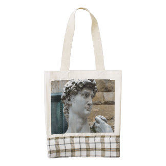 Michelangelo's David Zazzle HEART Tote Bag