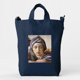 Michelangelo's Delphic Sibyl Customizable BAGGU Duck Bag