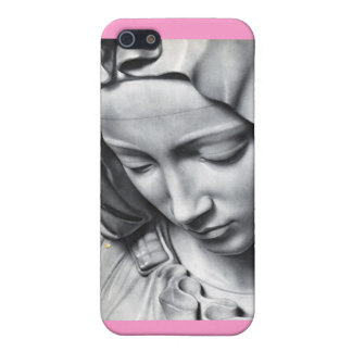 Michelangelo's Pieta detail of Virgin Mary's face Case For iPhone SE/5/5s