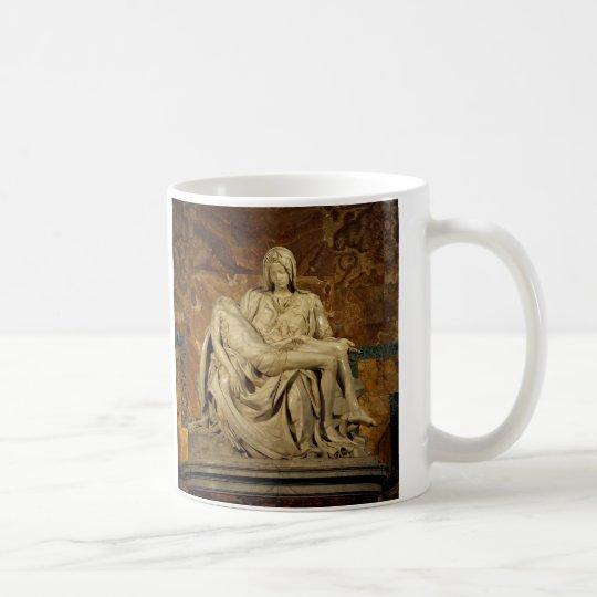 Michelangelo's Pieta in St. Peter's Basilica Coffee Mug