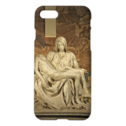 Michelangelo's Pieta in St. Peter's Basilica iPhone 8/7 Case