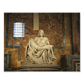 Michelangelo's Pieta in St. Peter's Basilica Photo Print