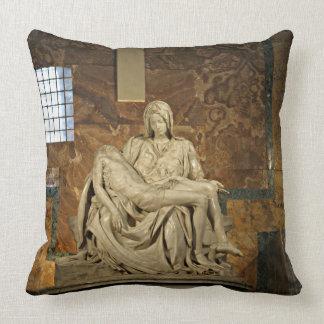 Michelangelo's Pieta in St. Peter's Basilica Pillow