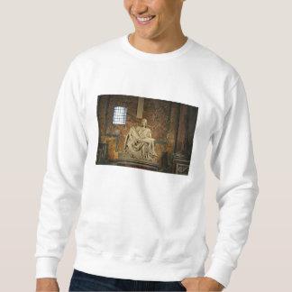 Michelangelo's Pieta in St. Peter's Basilica Sweatshirt