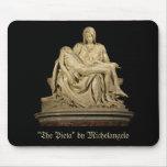 Michelangelo's 'Pieta' Mouse Pads