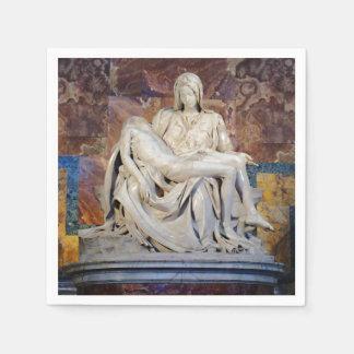 Michelangelo's Pieta Paper Napkin