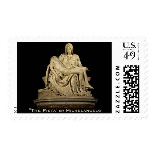 Michelangelo's Pieta Postage