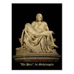 Michelangelo's 'Pieta' Postcard