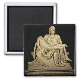 Michelangelo's 'Pieta' Refrigerator Magnet