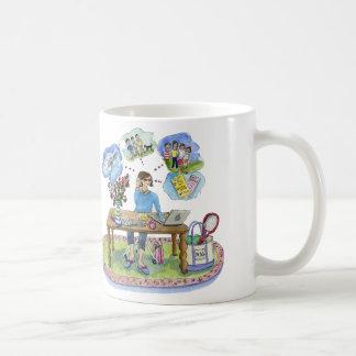 michele art,  pinkcake, Celebrating MSG Central! Coffee Mug