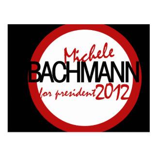 Michele Bachman 2012 Postcard