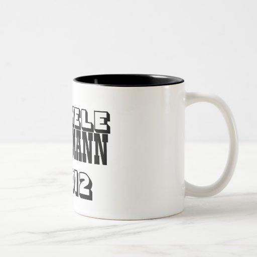 Michele Bachman 2012 Two-Tone Coffee Mug