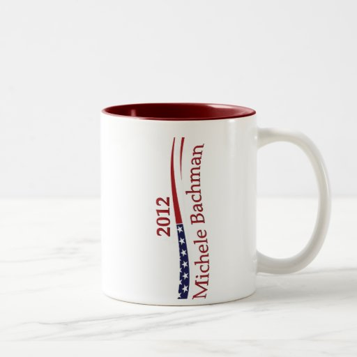 Michele Bachman Two-Tone Coffee Mug