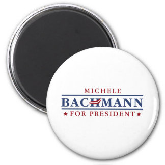 Michele Bachmann 2012 2 Inch Round Magnet