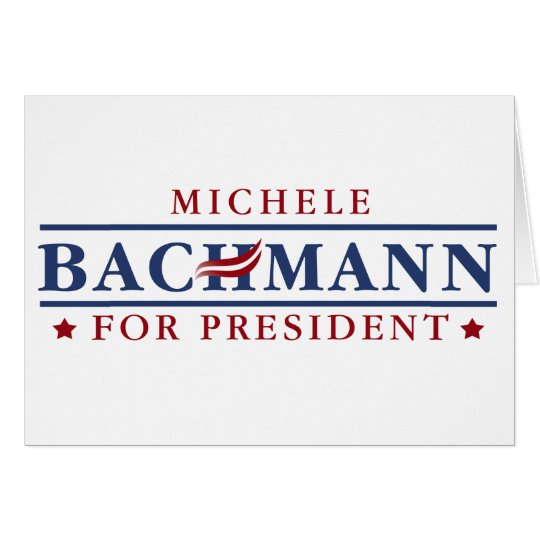 Michele Bachmann 2012 Card
