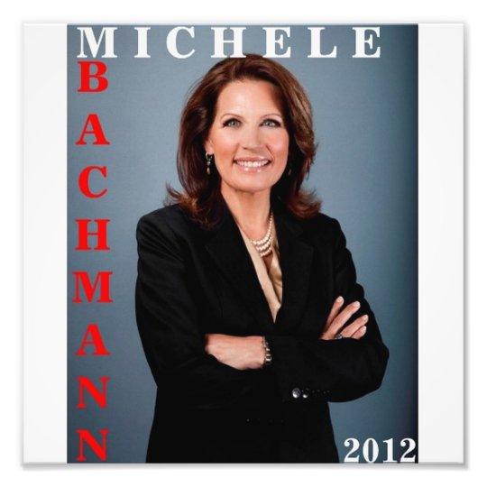Michele Bachmann 2012 Photo Print