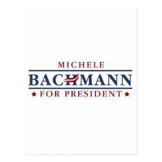 Michele Bachmann 2012 Postcard