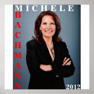Michele Bachmann 2012 Poster